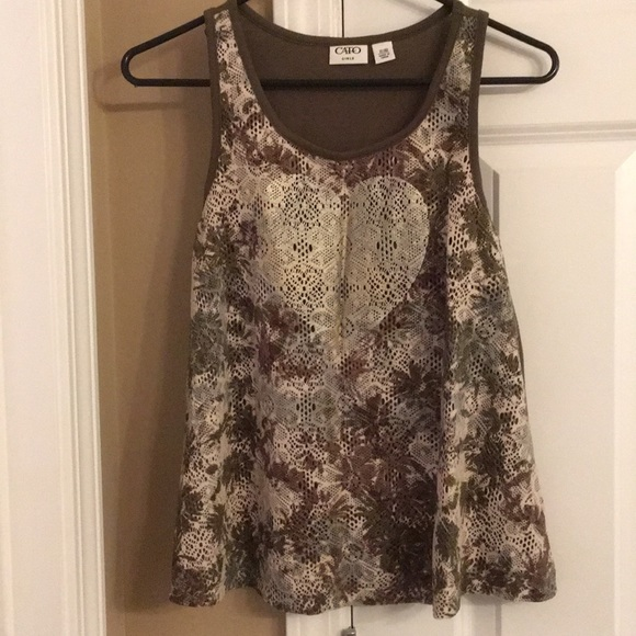 Cato Other - Girls Camo Tank Top XL 16